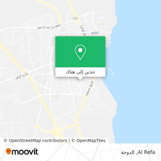 خريطة Al Refa