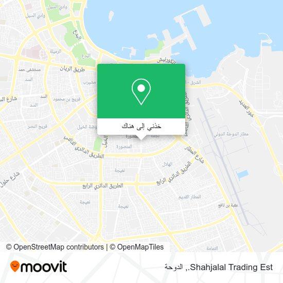 خريطة Shahjalal Trading Est.