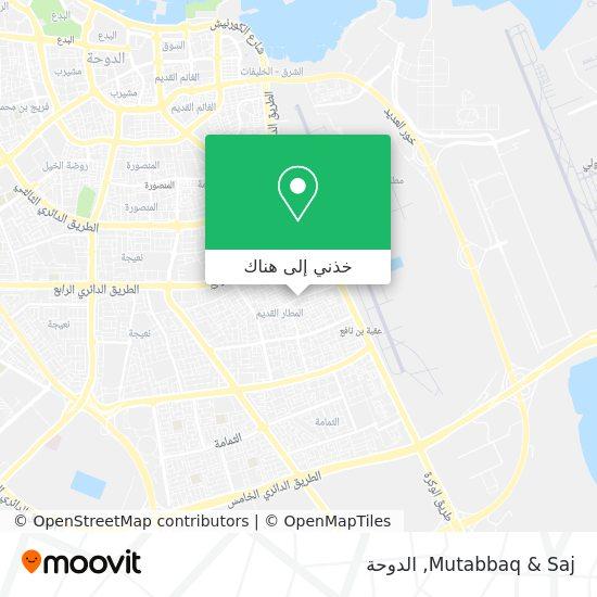 خريطة Mutabbaq & Saj