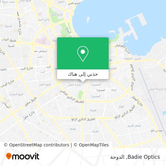 خريطة Badie Optics