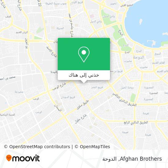 خريطة Afghan Brothers