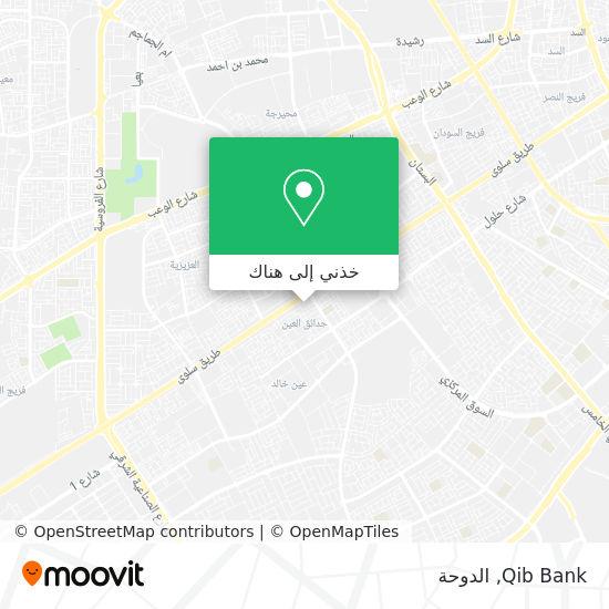 خريطة Qib Bank
