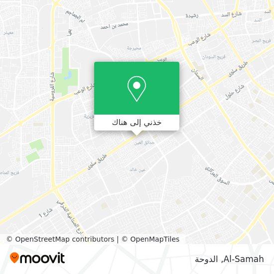 خريطة Al-Samah