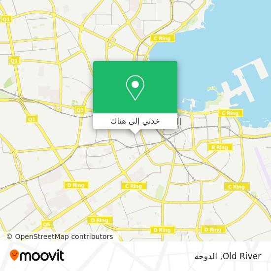 خريطة Old River