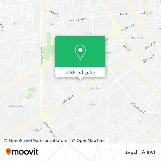 خريطة Alawi