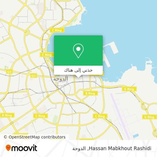 خريطة Hassan Mabkhout Rashidi