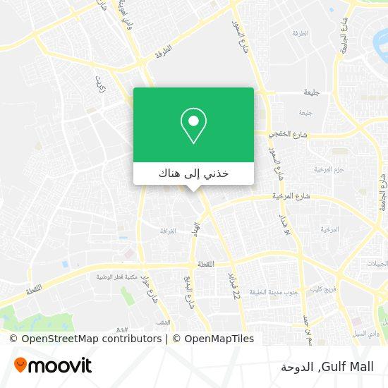 خريطة Gulf Mall