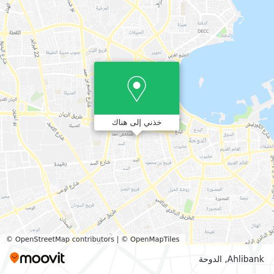 خريطة Ahlibank