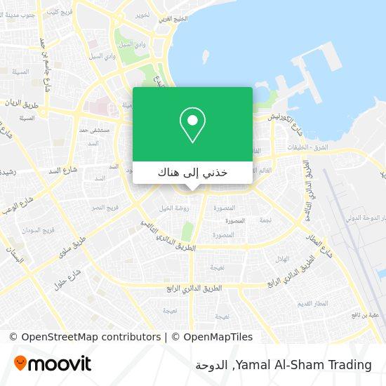 خريطة Yamal Al-Sham Trading