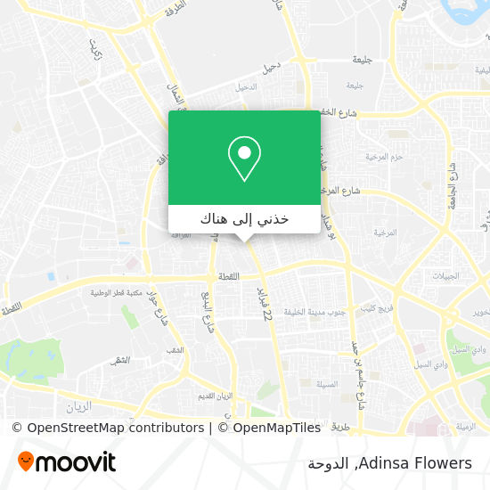 خريطة Adinsa Flowers