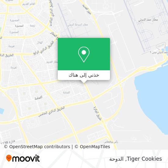 خريطة Tiger Cookies