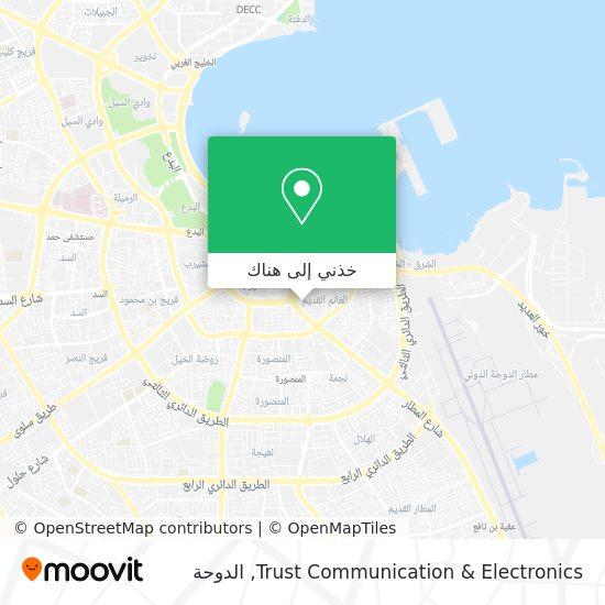 خريطة Trust Communication & Electronics