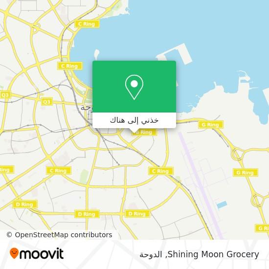 خريطة Shining Moon Grocery