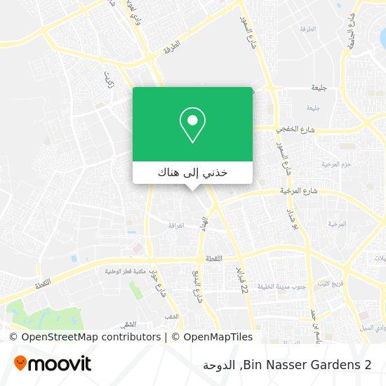 خريطة Bin Nasser Gardens 2