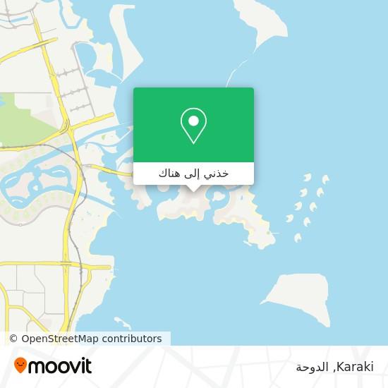 خريطة Karaki