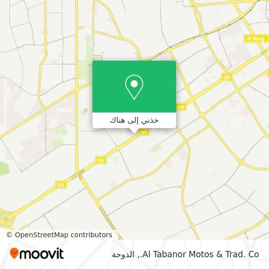 خريطة Al Tabanor Motos & Trad. Co.