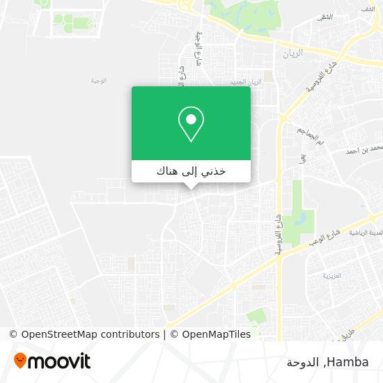 خريطة Hamba