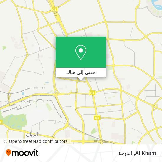 خريطة Al Kham
