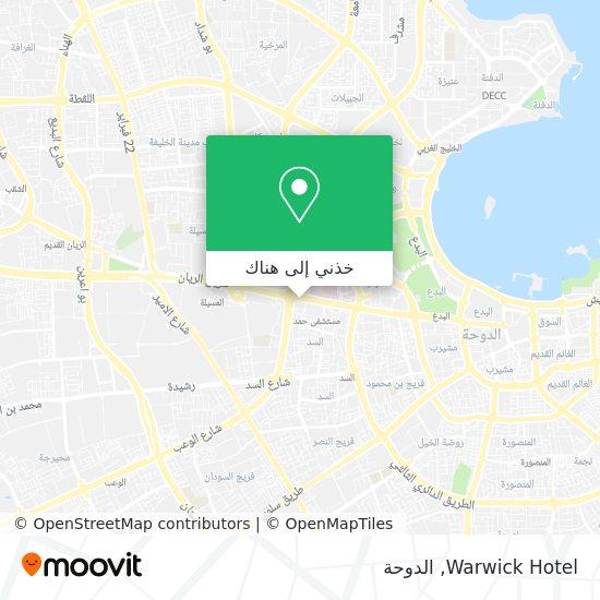 خريطة Warwick Hotel