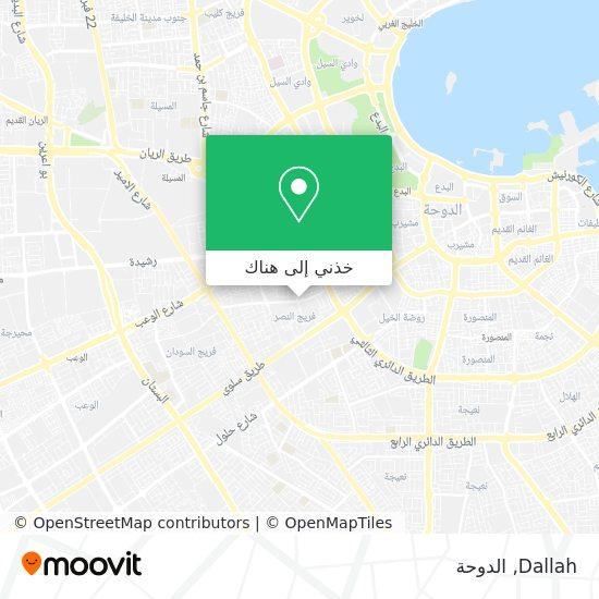 خريطة Dallah
