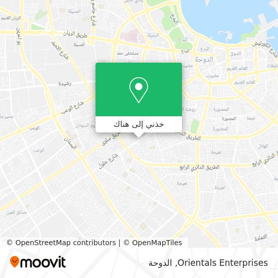 خريطة Orientals Enterprises