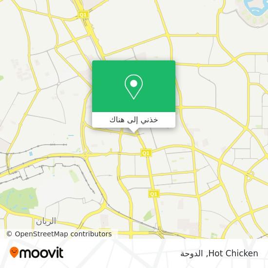 خريطة Hot Chicken