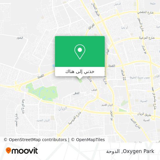 خريطة Oxygen Park