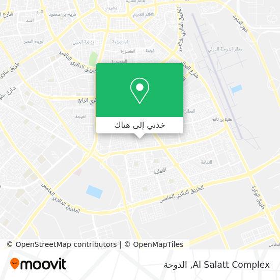 خريطة Al Salatt Complex