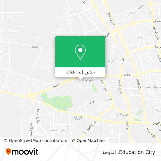 خريطة Education City