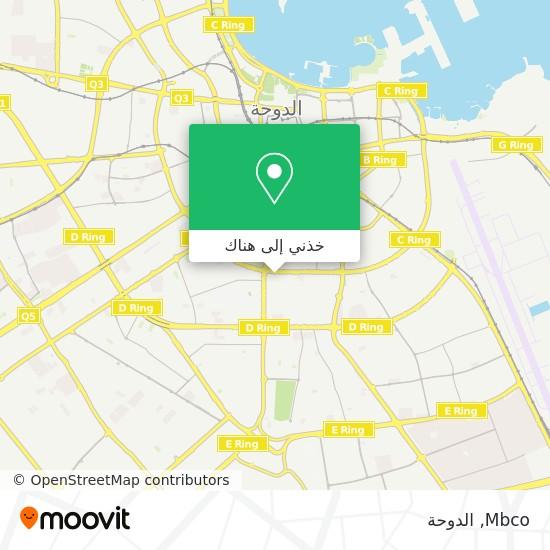 خريطة Mbco