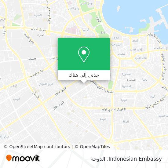 خريطة Indonesian Embassy