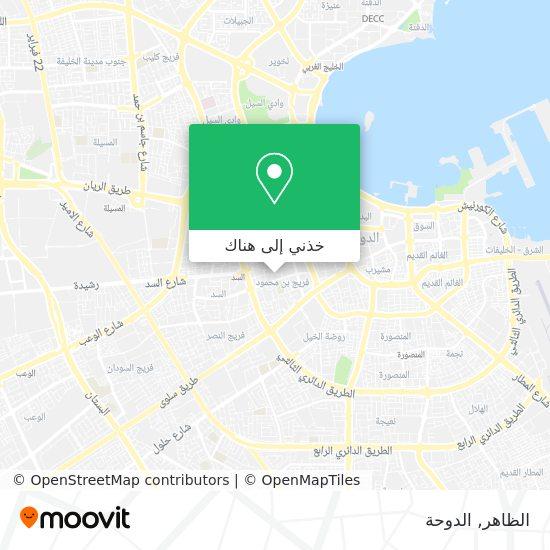 خريطة الظاهر