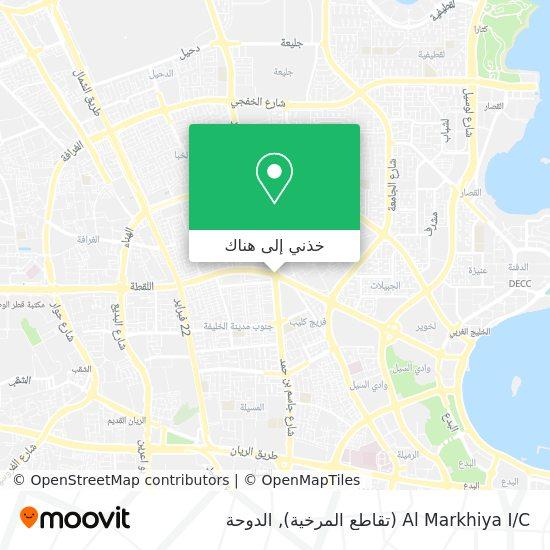 خريطة Al Markhiya I / C (تقاطع المرخية)