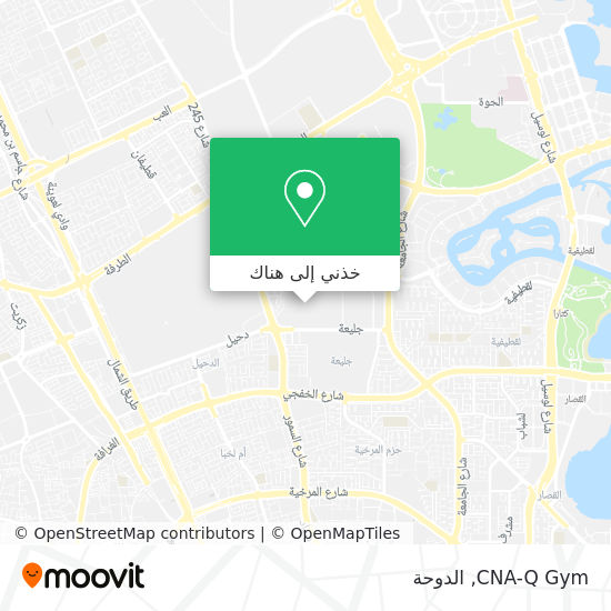 خريطة CNA-Q Gym
