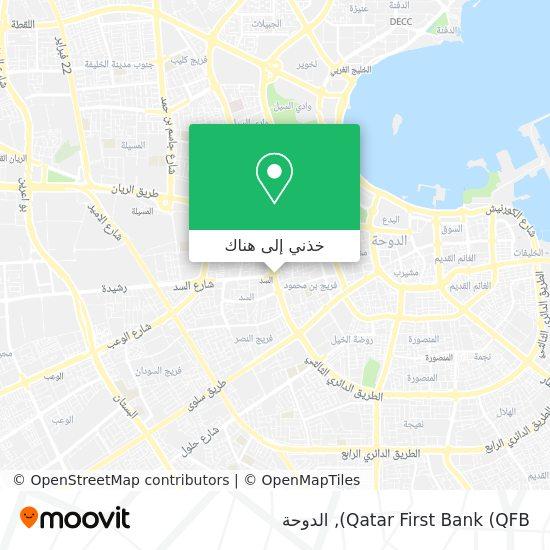 خريطة Qatar First Bank (QFB)