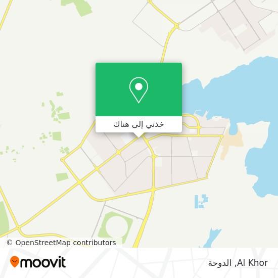 خريطة Al Khor