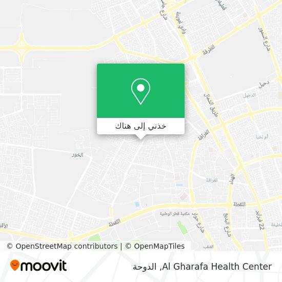 خريطة Al Gharafa Health Center