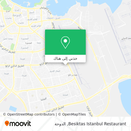 خريطة Besiktas Istanbul Restaurant