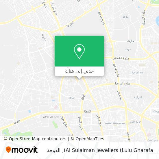 خريطة Al Sulaiman Jewellers (Lulu Gharafa)