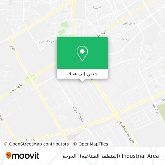 خريطة Industrial Area (المنطقة الصناعية)