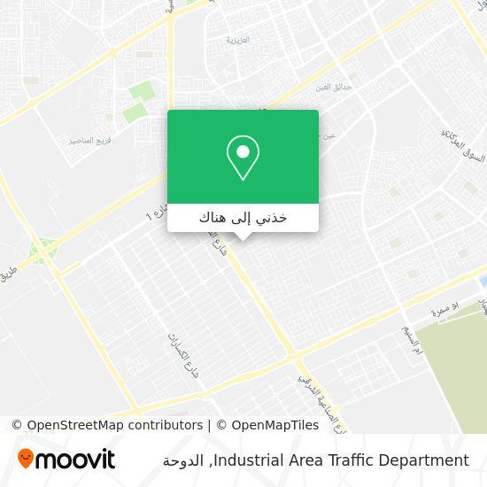 خريطة Industrial Area Traffic Department