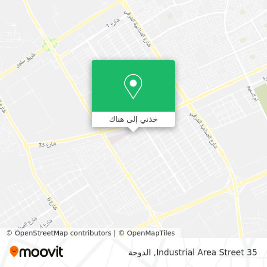 خريطة Industrial Area Street 35