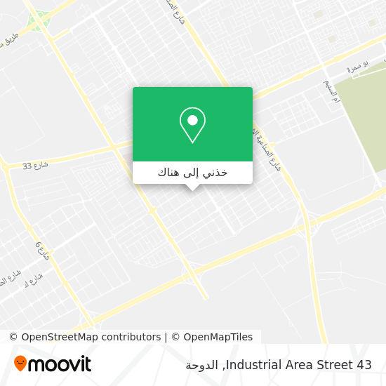 خريطة Industrial Area Street 43