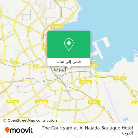 خريطة The Courtyard at Al Najada Boutique Hotel