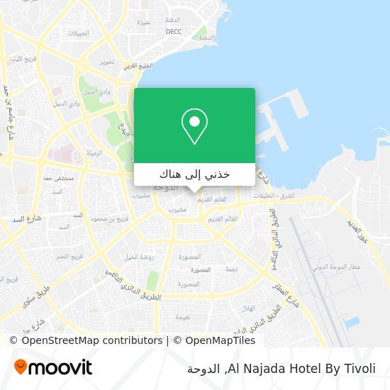 خريطة Al Najada Hotel By Tivoli