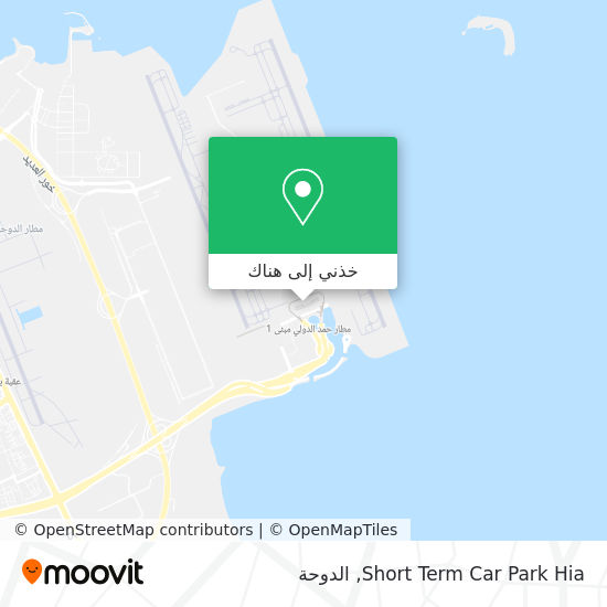 خريطة Short Term Car Park Hia