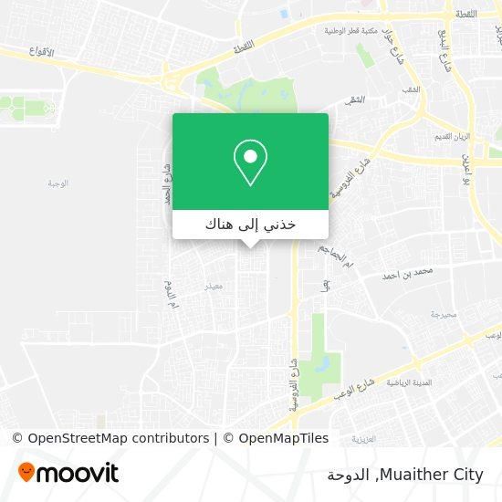خريطة Muaither City