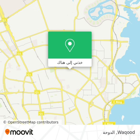 خريطة Waqood