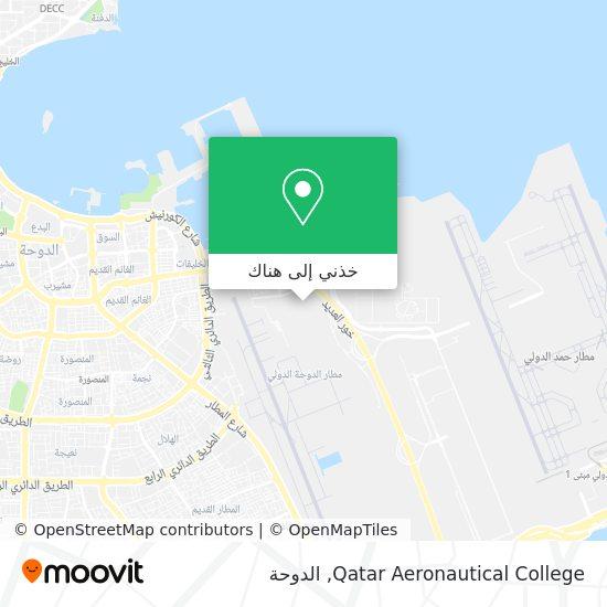 خريطة Qatar Aeronautical College