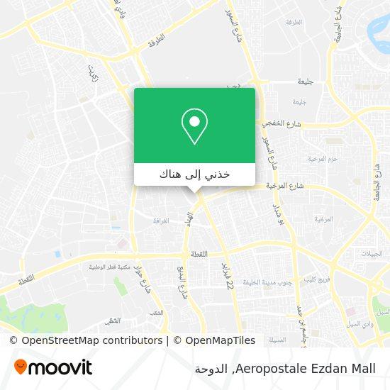 خريطة Aeropostale Ezdan Mall